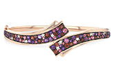 G197-61046: BANGLE 3.12 MULTI-COLOR 3.30 TGW (AMY,GT,PT)