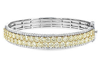 G198-48292: BANGLE 8.17 YELLOW DIA 9.64 TW