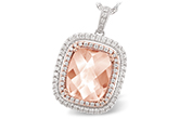 H197-58310: NECK 4.20 MORGANITE 4.66 TGW