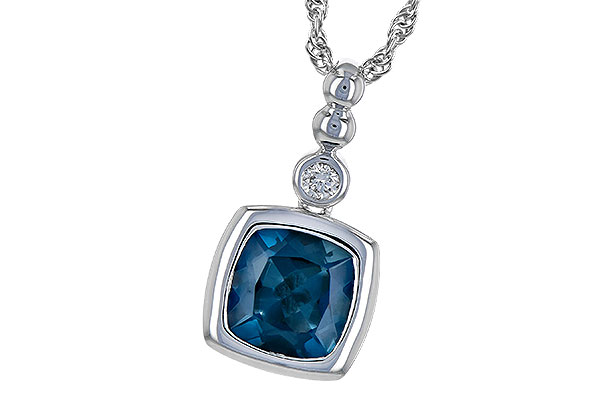L199-39191: NECK 1.50 LONDON BLUE TOPAZ 1.54 TGW